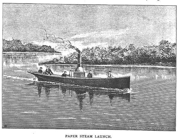 Paper Steam Launch